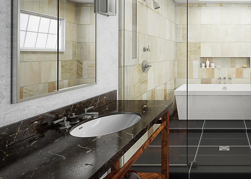 waschtisch granit naturstein waschtisch bellezza basalt. Black Bedroom Furniture Sets. Home Design Ideas